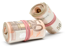 Euro - Geld beim Kredit einsparen mit Kreditvergleich