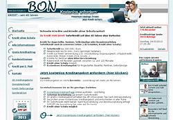 Bon Kredit aus der Schweiz - Sonderaktion
