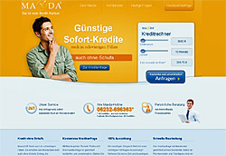 Maxda ist bekannt aus der TV-Werbung, aber ist Maxda eine Bank?