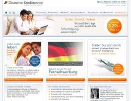 Deutscher Kreditservice bietet günstige Finanzierung